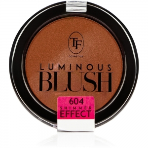 """Румяна пудровые для лица TBL-06-604C """"Luminous Blush"""" с шиммер эффектом тон 604 """"пепельный розовый"""""""