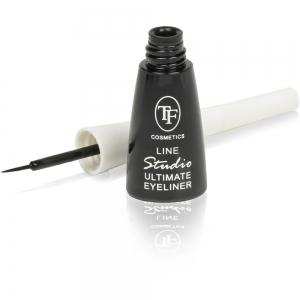 """Подводка для глаз TEL-09C """"Line Studio Ultimate Eyeliner"""", жидкая"""