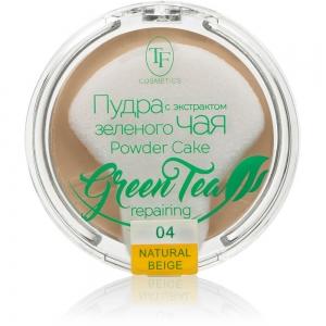 "Пудра компактная для лица ""Green Tea"" TP-16-04C, тон 04 натур.беж"