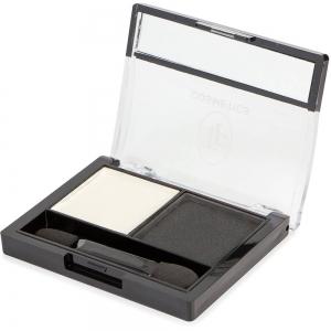 """Тени для век """"Color Show Eyeshadow"""" ТЕ-21-201C тон 201 Белый и черный"""
