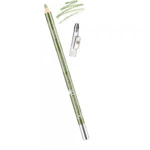 """Карандаш для глаз с точилкой W-207-138C тон №138 """"Professional Lipliner Pencil"""" для глаз, green metallic/зеленый металлик"""