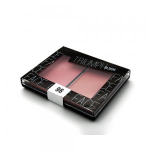 """Румяна двухцветные """"Triumph Blush"""" TBL-09-96C тон 96 """"холодный коричневый/нежно-розовый металлик"""""""