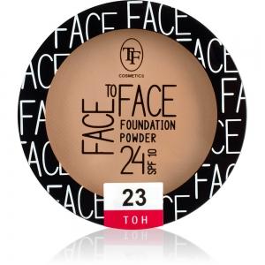 """Пудра компактная для лица """"Face To Face"""" TP-20-23C тон 23"""