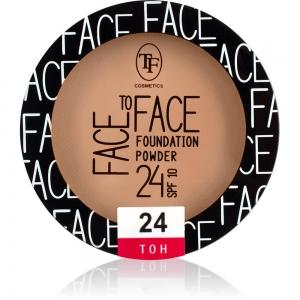 """Пудра компактная для лица """"Face To Face"""" TP-20-24C тон 24"""