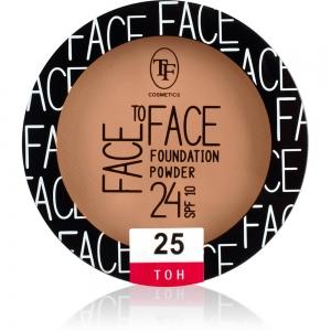 """Пудра компактная для лица """"Face To Face"""" TP-20-25C тон 25"""