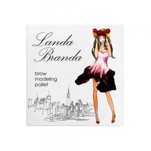 Landa Branda, Палетка для моделирования бровей Light brown hair