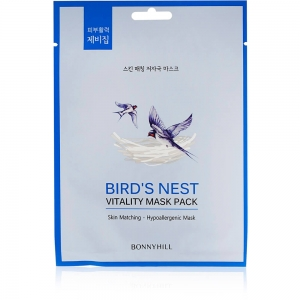 "Маска для лица осветляющая Bonny Hill ""Birds Nest"", 23г"