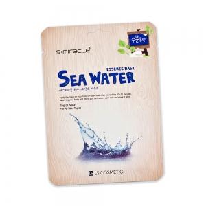 Маска для лица S+ miracle с морской водой, тканевая, 25г