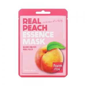 Маска для лица Real Fruits с экстрактом персика, тканевая, 23мл